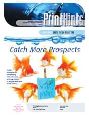 marketing for printers Printhints newsletter 2012-1